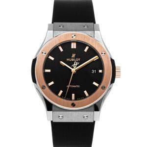 Hublot Black 18K Rose Gold And Titanium Classic Fusion 542.NO.1181.LR Men's Wristwatch 42 MM