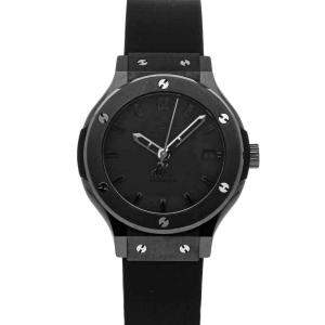 Hublot Black Ceramic Classic Fusion Limited Edition 565.CM.1110.RX Men's Wristwatch 38 MM