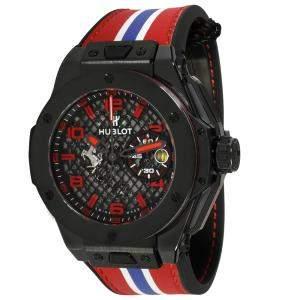 Hublot Grey Ceramic Big Bang Ferrari Speciale 401.CX.1123.VR Men's Wristwatch 45 MM