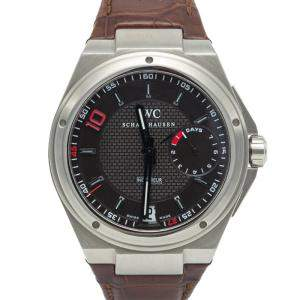 IWC Big Ingenieur 7 Day Zinedine Zidane Edition 500 Pieces Stainless Steel Men's Watch 45.5MM