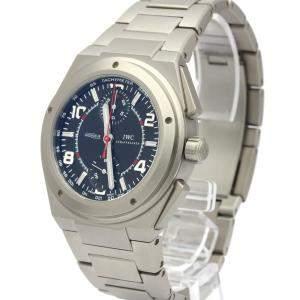 IWC Black Titanium Ingenieur Chronograph AMG IW372503 Men's Wristwatch 42 MM