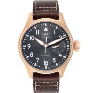 IWC Slate 18K Rose Gold Big Pilot Spitfire IW500917 Men's Wristwatch 46 MM