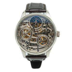 IWC Portugieser Tourbillon Mystere Squelette IW504303 White Gold 50 Pcs Limited Edition Men's Wristwatch 44MM
