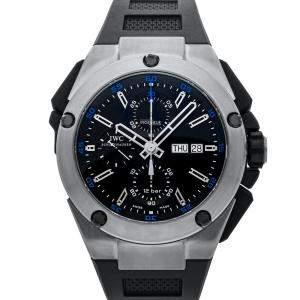 IWC Black Titanium Ingenieur Chronograph IW3765-01 Men's Wristwatch 45 MM