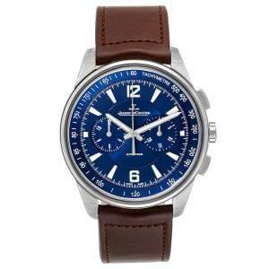 Jaeger Lecoultre Blue Stainless Steel Polaris 842.8.C1.s Q9028480 Men's Wristwatch 42 MM