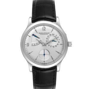ساعة يد رجالية ياغر لي كولتر ريزيرف دو مارشي 140.8.38.S Q1488404 ستانلس ستيل فضية 37مم