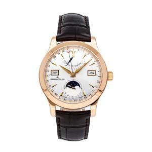 ساعة يد رجاية ياجر لي كولتر ماستر كيو151242أيه ذهب وردي عيار 18 فضية 40 مم