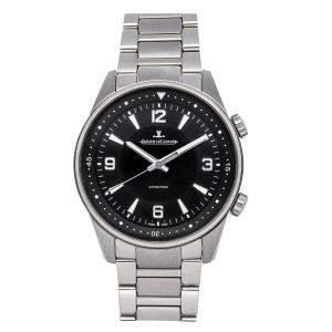 Jaeger LeCoultre Black Stainless Steel Polaris Q9008170 Men's Wristwatch 41 MM