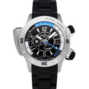 Jaeger LeCoultre Black Titanium Master Compressor Diving Pro Geographic Q185T770 Men's Wristwatch 46 MM