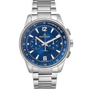 Jaeger Lecoultre Blue Stainless Steel Polaris 842.8.C1.s Q9020180 Men's Wristwatch 42 MM