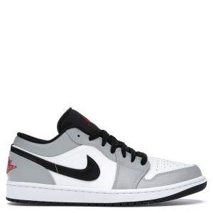 Nike Jordan 1 Low Light Smoke Grey Sneakers Size EU 36.5 (US 4.5Y)