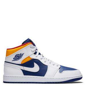 Nike Jordan 1 Mid Laser Orange EU Size 40.5 US Size 7.5