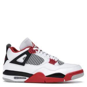 Nike Jordan 4 Retro Fire Red Sneakers Size EU 36 US 4Y