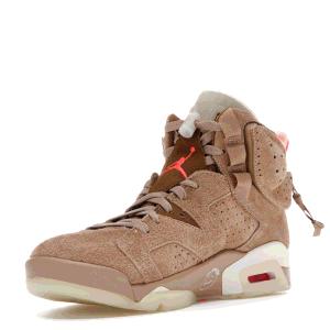 Jordan 6 Travis Scott British Khaki Sneakers Size US 9 (EU 42.5)