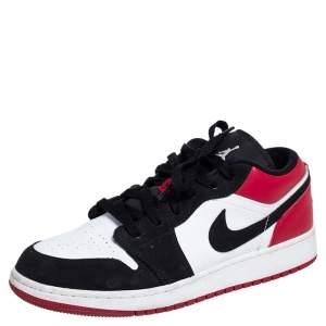 Air Jordan 1 Low Red/Black GS Sneakers Size 38.5