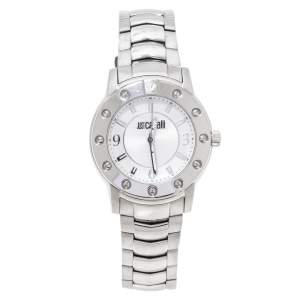 Just Cavalli Silver Stainless Steel R7253661115 Men's Wristwatch 41 mm