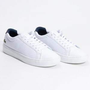 """حذاء رياضي لاكوست """"أل12.12 أل آي جي أس تي-دبليوتي"""" أبيض مقاس 42.5 (متاح لعملاء الأمارات العربية المتحدة فقط)"""