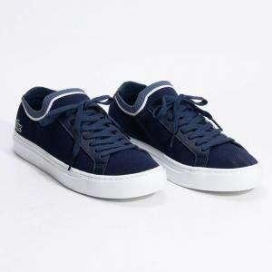 حذاء رياضي لاكوست قماش لا بيكيه أزرق كحلي مقاس 42 (متاح لعملاء الأمارات العربية المتحدة فقط)