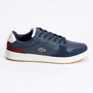 حذاء رياضي لاكوست ماسترز كب ثلاثي اللون أزرق مقاس 42 (متاح لعملاء الأمارات العربية المتحدة فقط)