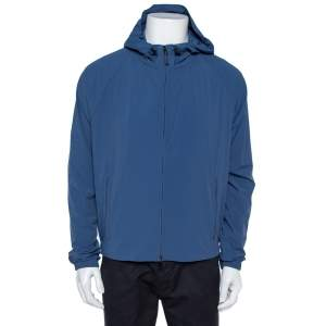Loro Piana Blue Regatta Deck Rain Jacket L