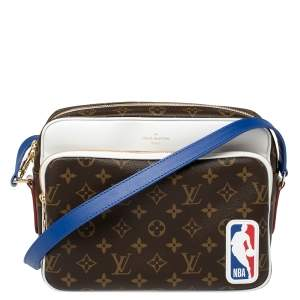 Louis Vuitton Monogram Canvas LVXNBA Nil Messenger Bag