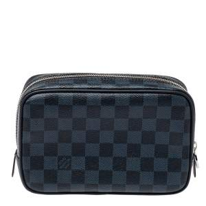 Louis Vuitton Damier Cobalt Toilet Pouch PM