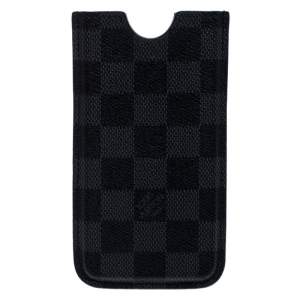 Louis Vuitton Damier Graphite Canvas iPhone 4 Cover