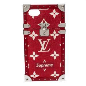 Louis Vuitton x Supreme Monogram Eye Trunk iPhone 7 Plus Case