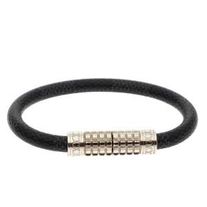 Louis Vuitton Black Damier Graphite Canvas Digit Bracelet