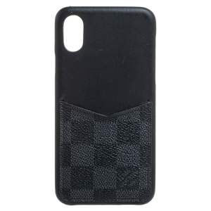 Louis Vuitton Damier Graphite Canvas iPhone X/XS Bumper Case