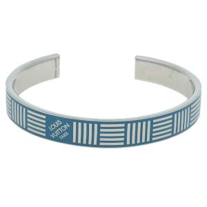 Louis Vuitton Damier Blue Cuff Bracelet