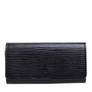 Louis Vuitton Black Epi Leather Key Holder