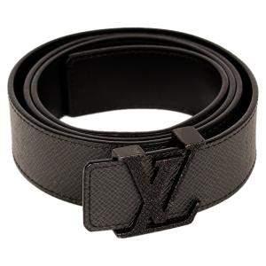 Louis Vuitton Taiga Leather Initiales Belt Size 100 Cm