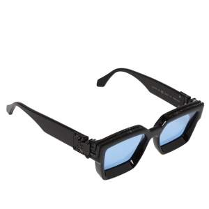 Louis Vuitton Black Tone/Blue Z1277W 1.1 Millionaires Sunglasses