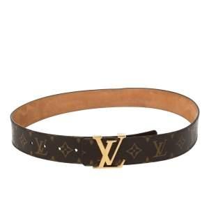 حزام لوي فيتون حروف شعار أولية كانفاس مونوغرامي 85 سم