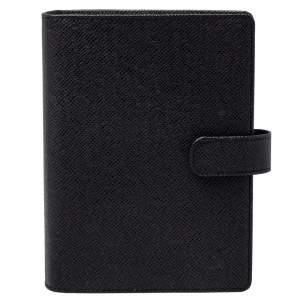 Louis Vuitton Taiga Leather Medium Ring Agenda Cover