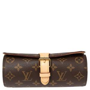 Louis Vuitton Monogram Canvas 3 Watch Case
