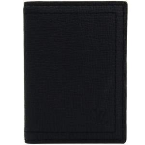 Louis Vuitton Bleu Marine Utah Leather Pocket Organizer