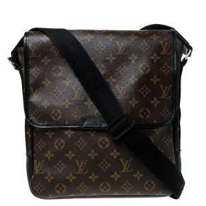 Louis Vuitton Brown Monogram Canvas Messenger Bag