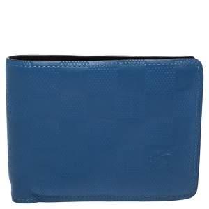 Louis Vuitton Blue Damier Infini Leather Slender Wallet