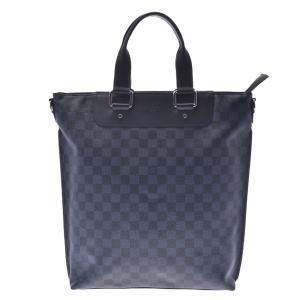 Louis Vuitton Damier Cobalt Canvas Cabas Sac Jour Bag