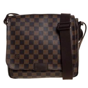Louis Vuitton Damier Ebene Canvas District PM Bag