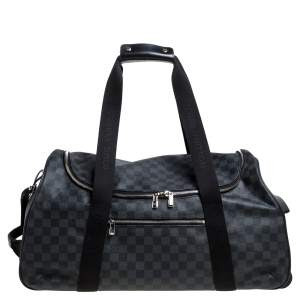 Louis Vuitton Damier Graphite Canvas Neo Eole 55 Rolling Luggage