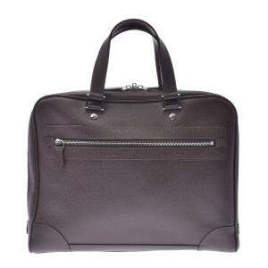 Louis Vuitton Grizzly Taiga Leather Business Bag