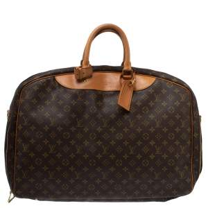 Louis Vuitton Monogram Canvas Alizé 2 Poche Soft Suitcase