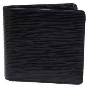 Louis Vuitton Black Epi Leather Marco Bifold Wallet