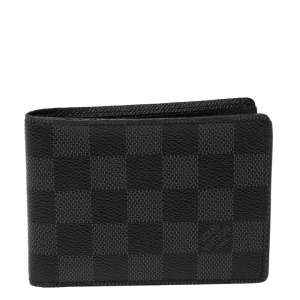 Louis Vuitton Damier Graphite Canvas Multiple Bifold Wallet