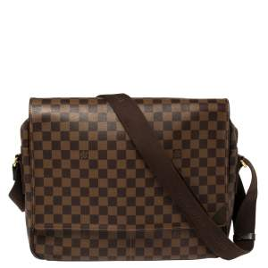 Louis Vuitton Damier Ebene Canvas Shelton MM Bag