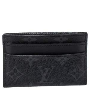 Louis Vuitton Monogram Eclipse Double Card Holder