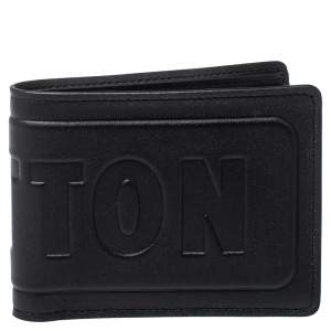 Louis Vuitton Black Leather Infinity Multiple Wallet